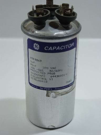 Capacitors Contactors Amp Transformers Vinje S Sheet