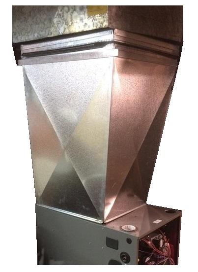 Custom Duct Vinje S Sheet Metal Amp Diy Heating