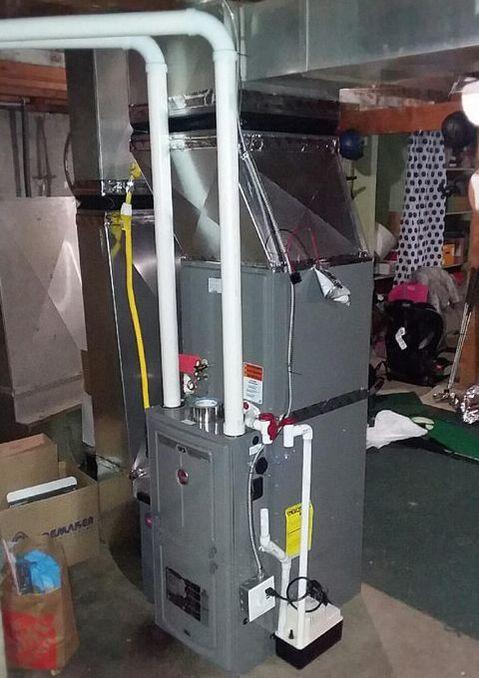 Diy Furnace Vinje S Sheet Metal Amp Diy Heating